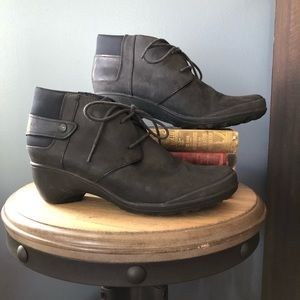 merrell veranda leather lace up boot